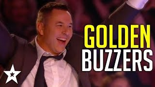 Judges GOLDEN BUZZERS | David Walliams' Top Moments On Britain's Got Talent! | Got Talent Global
