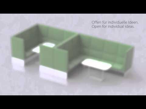 Brunner banc - modular lounge system