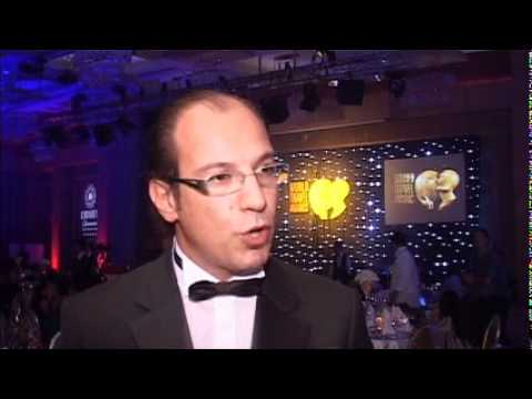 Cumhur Özen, General Manager, Mardan Palace at World Travel Awards 2011 Europe Ceremony