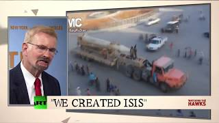 Video: The CIA created ISIS, former FBI counter-terrorism expert claims - RT Hawks