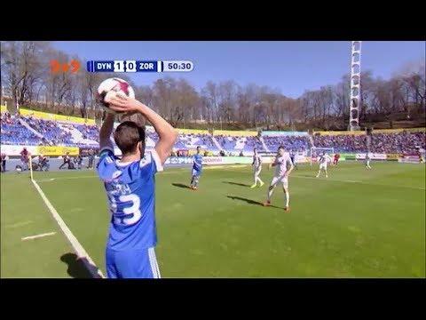 Динамо - Зоря - 4:0. Відео-огляд матчу