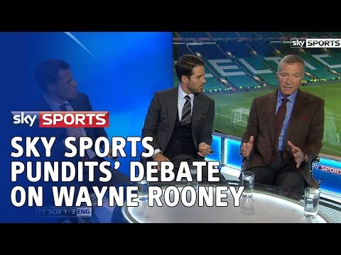 Sky Sports pundits' debate on Wayne Rooney