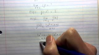 Calculus I - Determine if a function is continuous or discontinuous