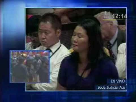 Alberto Fujimori 07/04/2009 lectura de la sentencia