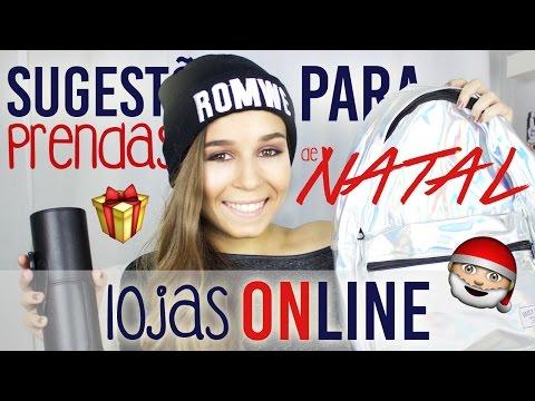 Sugestões para Prendas de Natal ♥ Lojas Online