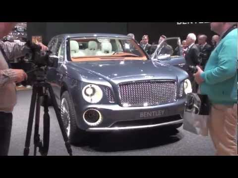 Bentley concept EXP 9F