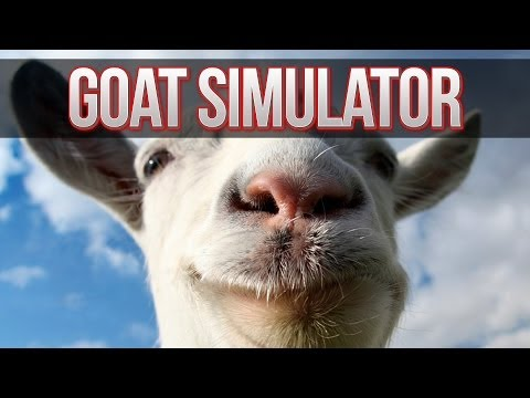 GOAT SIMULATOR! Goat Funny Moments! (Goat Simulator Gameplay Steam PC HD)