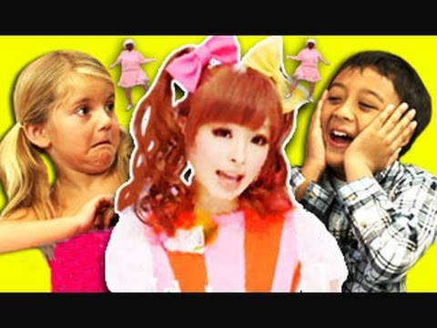 Kids React To Ponponpon - きゃりーぱみゅぱみゅ video