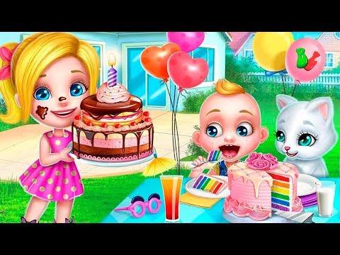 КРОШКА Малыш БОСС Учимся Готовить Праздничный ТОРТ BABY Boss Мультик Игра Для Детей