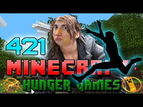 Minecraft: Hunger Games w Mitch Game 421 TREE JUMPING