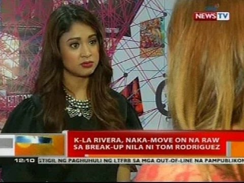 BT K-La Rivera  naka-move on K La Rivera And Tom Rodriguez