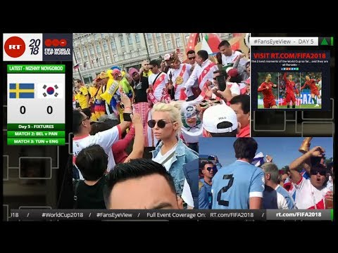 World Cup 2018: Fans Eye View (LIVE+TAPE)