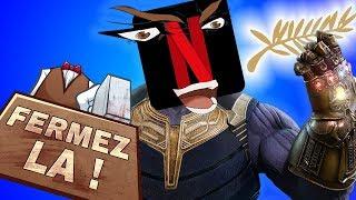 Netflix VS Cannes - Mini FERMEZ LA
