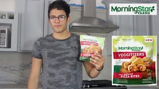Morningstar Farms Sausage Pizza Bites | Vegan Pizza Rolls | Review