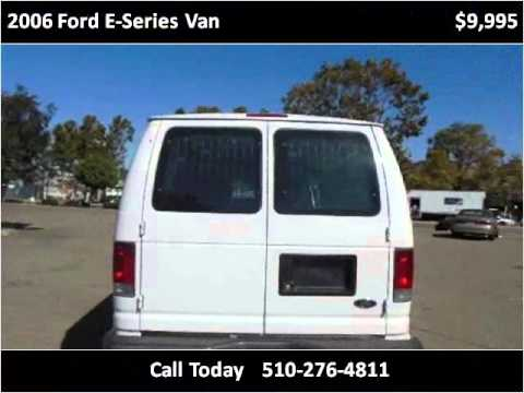 2006 Ford E-Series Van Used Cars San Leandro CA