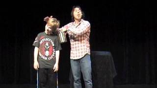 Anti-bullying Message with Comedy and Magic by Tony Brent