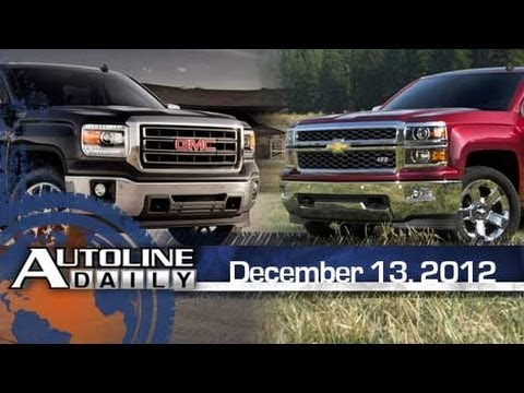 First Look: Chevy Silverado & GMC Sierra - Autoline Daily 1033