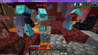 Minecraft Together (Building Town Hall) Livestream 23/04/18