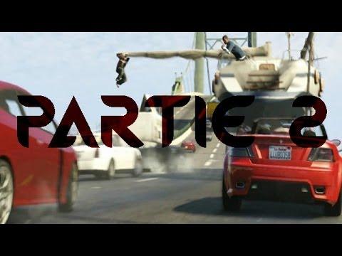 GTA V | Le Film | Partie 2 | Mon bateau !!