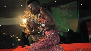 Wiyaala - Performance @ Ovation Red Carol & Awards Night 2014 | GhanaMusic.com Video