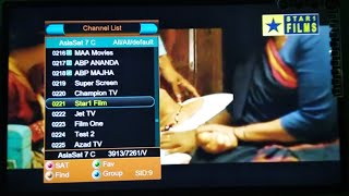 Asiasat 7 New Channels Update
