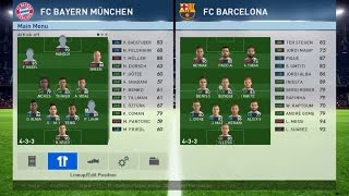 PES 2017 // 4-3-3 Counter Attack