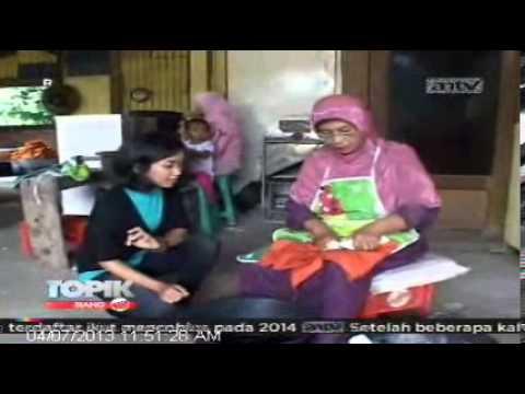 TOPIK ANTV Kuliner, Pedasnya Keripik Singkong