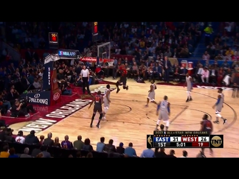 Kevin Durant Alley-Oop To Russell Westbrook In All-Star Game
