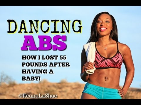 Keaira LaShae- Dancing ABS WORKOUT (How To LOSE BELLY FAT)