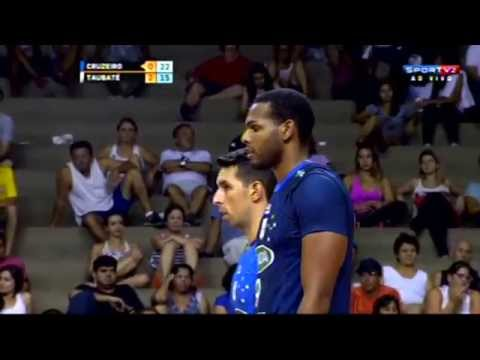 SF02 - SADA CRUZEIRO X TAUBATÉ VÔLEI - Copa Brasil de Vôlei Masculino 2015