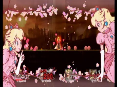 Super Smash Bros. Brawl ~ The Legend of Peach: Fighting Princess (PRF #16)