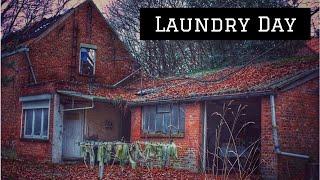 Laundry Day Oud Verlaten Huisje
