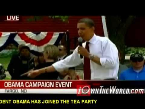 BREAKING NEWS - President Barack Obama joins the Terrorist Tea Party - iOwnTheWorld Mr Pinko