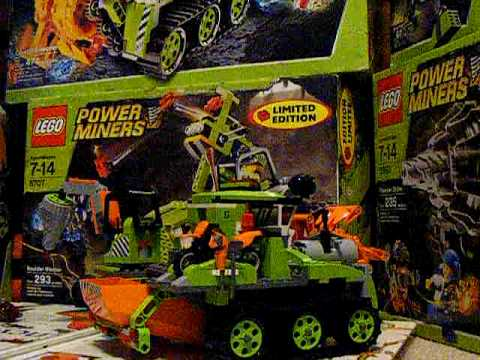 Lego Power Miners Crystal Sweeper review (discontinued set)