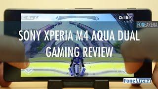 Sony Xperia M4 Aqua Dual Gaming Review