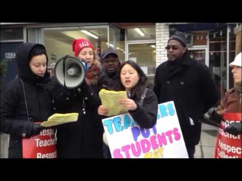 0 Super Tuesday protest reveals Ontario teacher disaffection and questionable musical taste