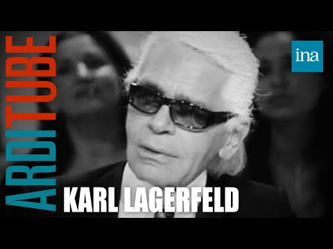 Karl Lagerfeld et les régimes alimentaires - Archive INA
