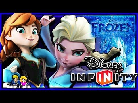 Disney Infinity : Frozen Anna & Elsa Gameplay