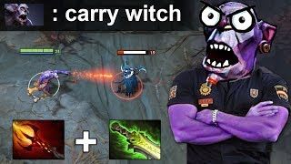 WITCH DOCTOR HARD CARRY PATCH 7.17 NEW META DOTA 2 GAMEPLAY #130