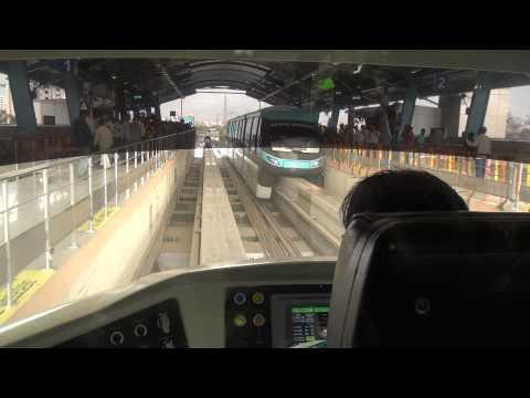 Porsche Mumbai Monorail Driver Cabin View Coverage with an amazing termination at Chembur, Mumbai
