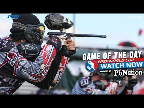 World Cup Paintball: Relegation Game - Houston Heat Vs. Baltimore Revo