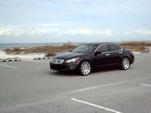 Lowered Honda Accord Sedan 2009 Honda Accord Sedan Mrr