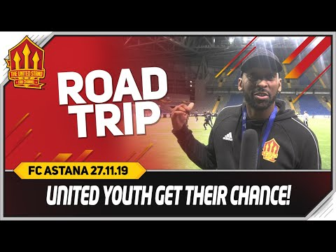 CLASS OF SOLSKJAER! FC Astana vs Manchester United Road Trip!
