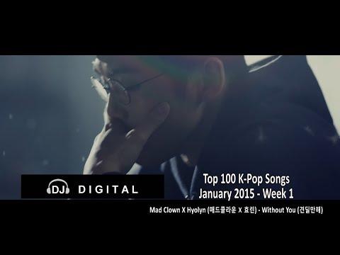 Top 100 K-pop Songs For January 2015 Week 1 video