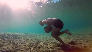 Hypoxic Workout - river swimming.