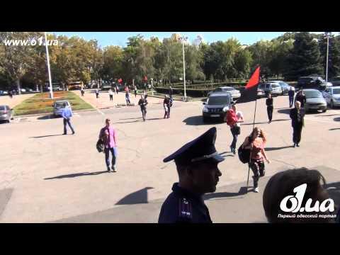 o1.ua - Избиение шуфрича в Одессе Правым Сектором / Новости Одессы
