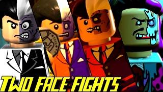 Evolution of Two-Face Battles in LEGO Batman Games (2008-2017)