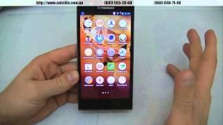 Lenovo K900 обзор русифицированного смартфона