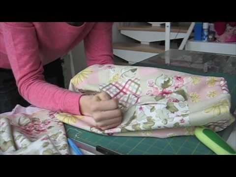 Living the crafts como hacer una funda para la m quinade coser youtube - Como hacer pachwork ...
