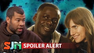 Let's Talk Intense GET OUT Spoilers WITH Jordan Peele